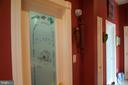 Etched glass door to walk-in pantry - 120 QUAIL LN, NEW MARKET