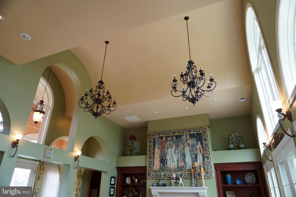 Cathedral, barreled ceiling design - 120 QUAIL LN, NEW MARKET