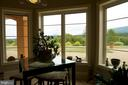 Enjoy the mountain views from dining area - 120 QUAIL LN, NEW MARKET