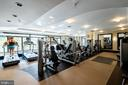 Building Fitness Center - 7710 WOODMONT AVE #703, BETHESDA