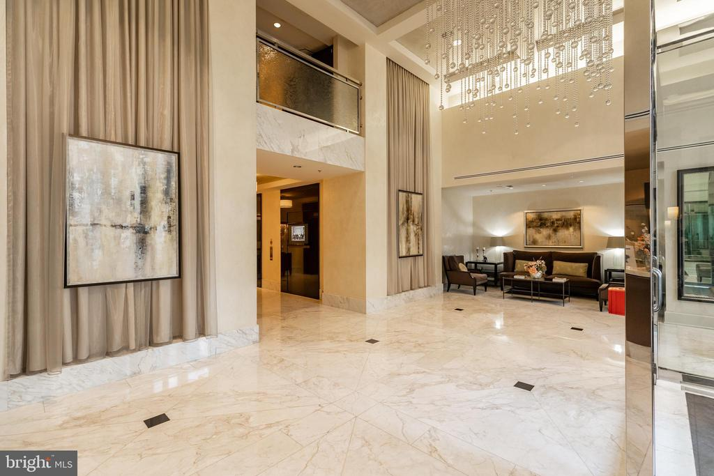 Lobby - 7710 WOODMONT AVE #703, BETHESDA