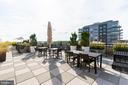 Rooftop Terrace - 7710 WOODMONT AVE #703, BETHESDA