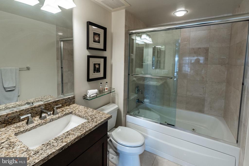 Ensuite Full Bath #2 - 7710 WOODMONT AVE #703, BETHESDA