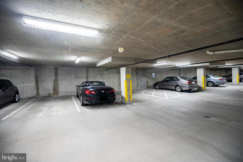 Two Deeded Parking Spaces - 7710 WOODMONT AVE #703, BETHESDA