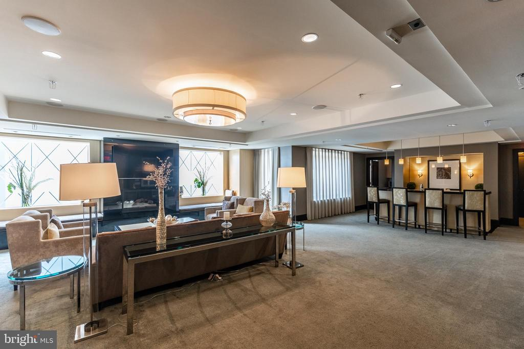 Club Room - 7710 WOODMONT AVE #703, BETHESDA