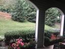 Patio view - 20453 CHESAPEAKE SQ #103, STERLING