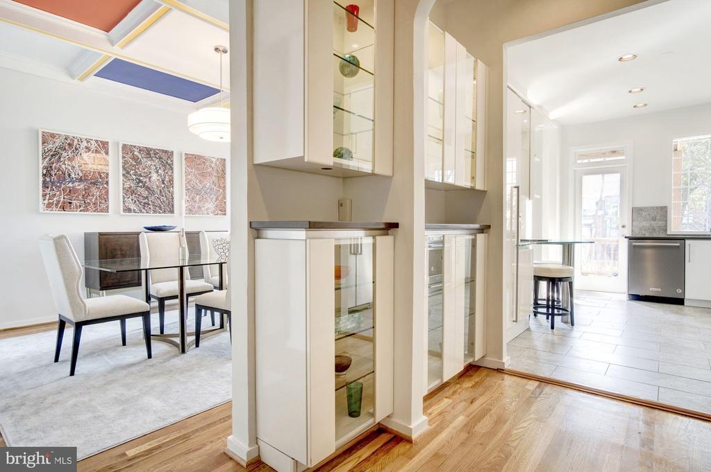 Architectural Built-ins - 1752 LAMONT ST NW, WASHINGTON