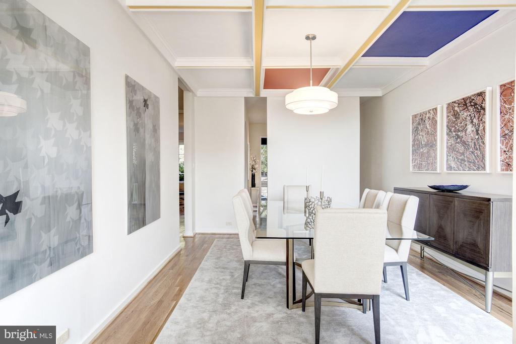 Dining Room - 1752 LAMONT ST NW, WASHINGTON