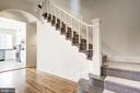 Main Staircase - 1752 LAMONT ST NW, WASHINGTON