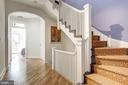Staircase to 3rd Floor - 1752 LAMONT ST NW, WASHINGTON