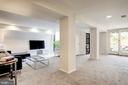 Lower Level Family Room - 1752 LAMONT ST NW, WASHINGTON
