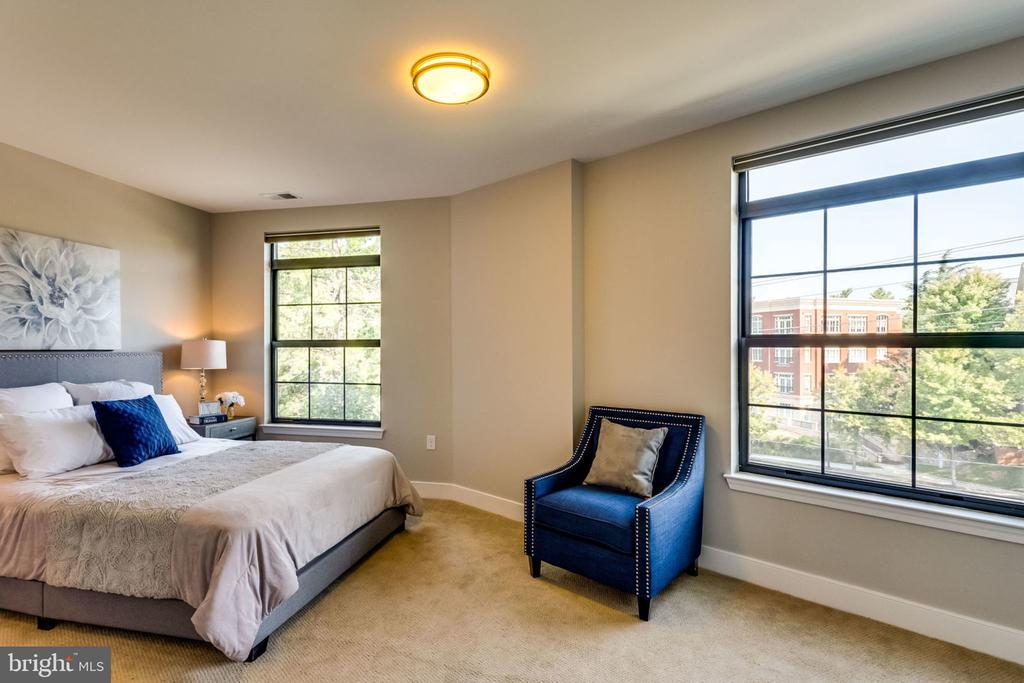 Spacious, Sunny MBR Suite w/Sitting ARea - 2702 LEE HWY #3B, ARLINGTON