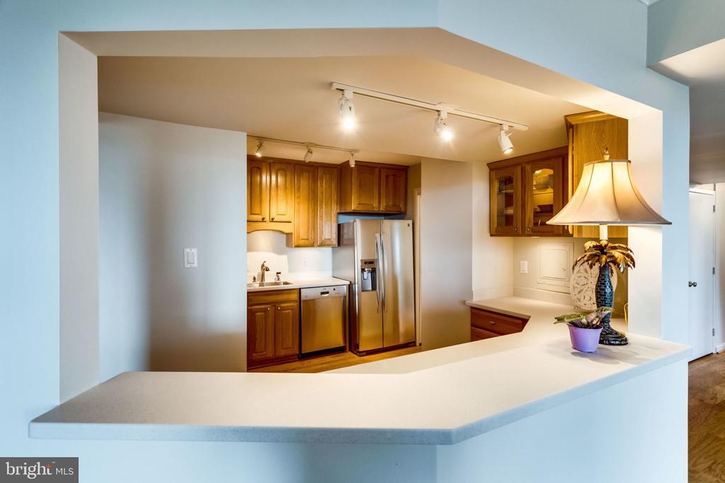 Open to Living Room - 3800 FAIRFAX DR #704, ARLINGTON