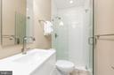 Second bathroom - 3137 O ST NW, WASHINGTON