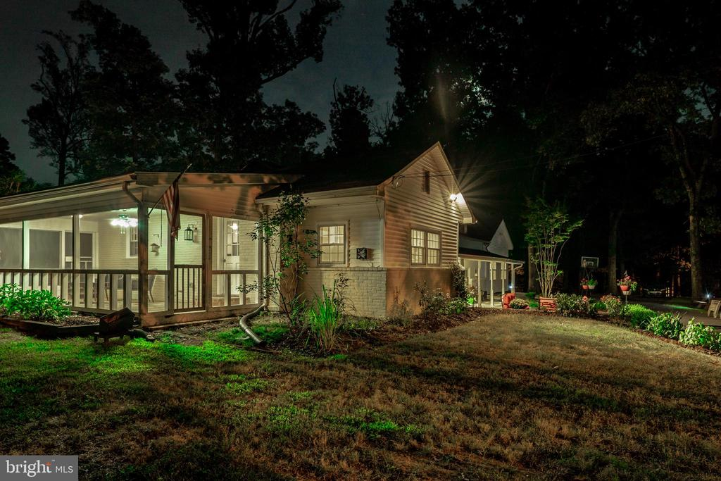 Tranquil Night View of The Side - 7325 AUBURN ST, ANNANDALE