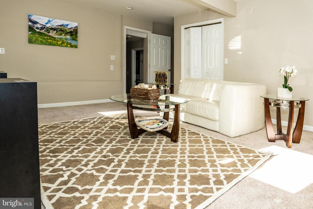 Recreational/Game Room/ Guest Bedroom Main Level - 7325 AUBURN ST, ANNANDALE