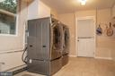 Laundry Room/ Newer Washer/Dryer (2017) - 7325 AUBURN ST, ANNANDALE