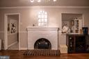 Living Room/Dining Room Upper Level - 7325 AUBURN ST, ANNANDALE