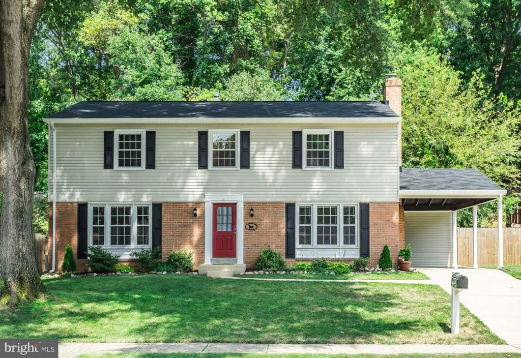 Lovely updated home on tree-lined street - 6411 WYNGATE DR, SPRINGFIELD