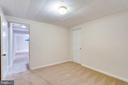 Den, office, guest room in basement w/ storage - 6411 WYNGATE DR, SPRINGFIELD