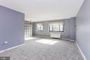 Bright Open Main Living/Dining Area - 1300 S ARLINGTON RIDGE RD #512, ARLINGTON