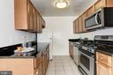 Galley Kitchen with Ample Counter Space - 1300 S ARLINGTON RIDGE RD #512, ARLINGTON
