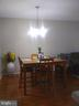Dining Room with Hardwood Floors - 44 HIGHLANDER DR, FREDERICKSBURG