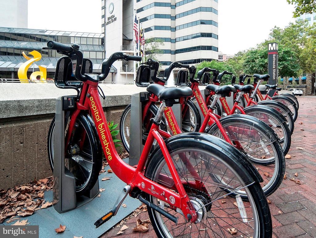 Bike Share - 7710 WOODMONT AVE #703, BETHESDA