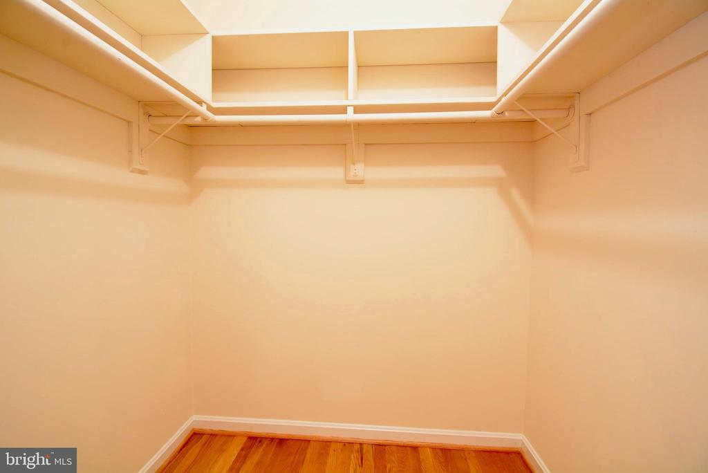 Walk in closet - 7002 SPRINGFIELD VILLAGE CT, SPRINGFIELD