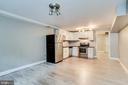 Basement  Living Space - 1544 8TH ST NW, WASHINGTON