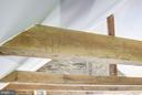 Notched Beam in Cottage - 13032 HIGHLAND RD, HIGHLAND