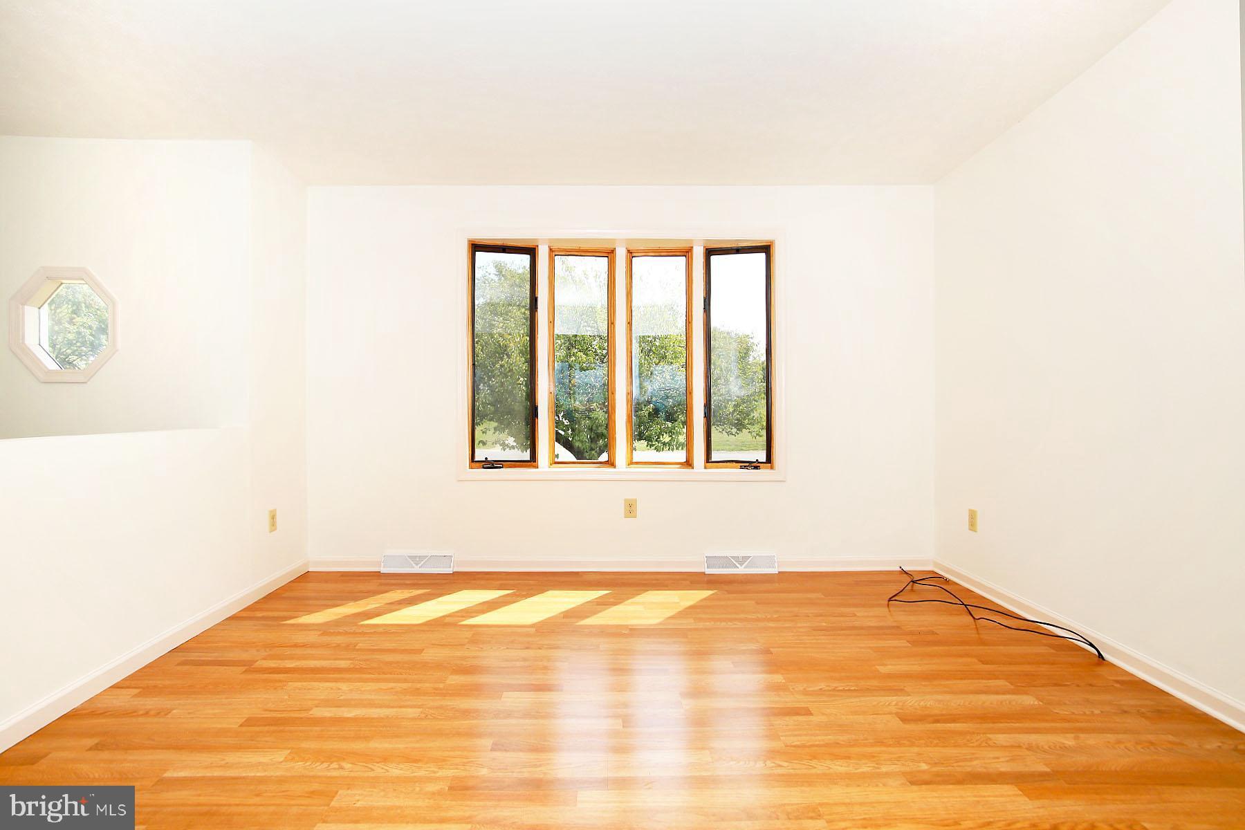 Living Room w/ bow window