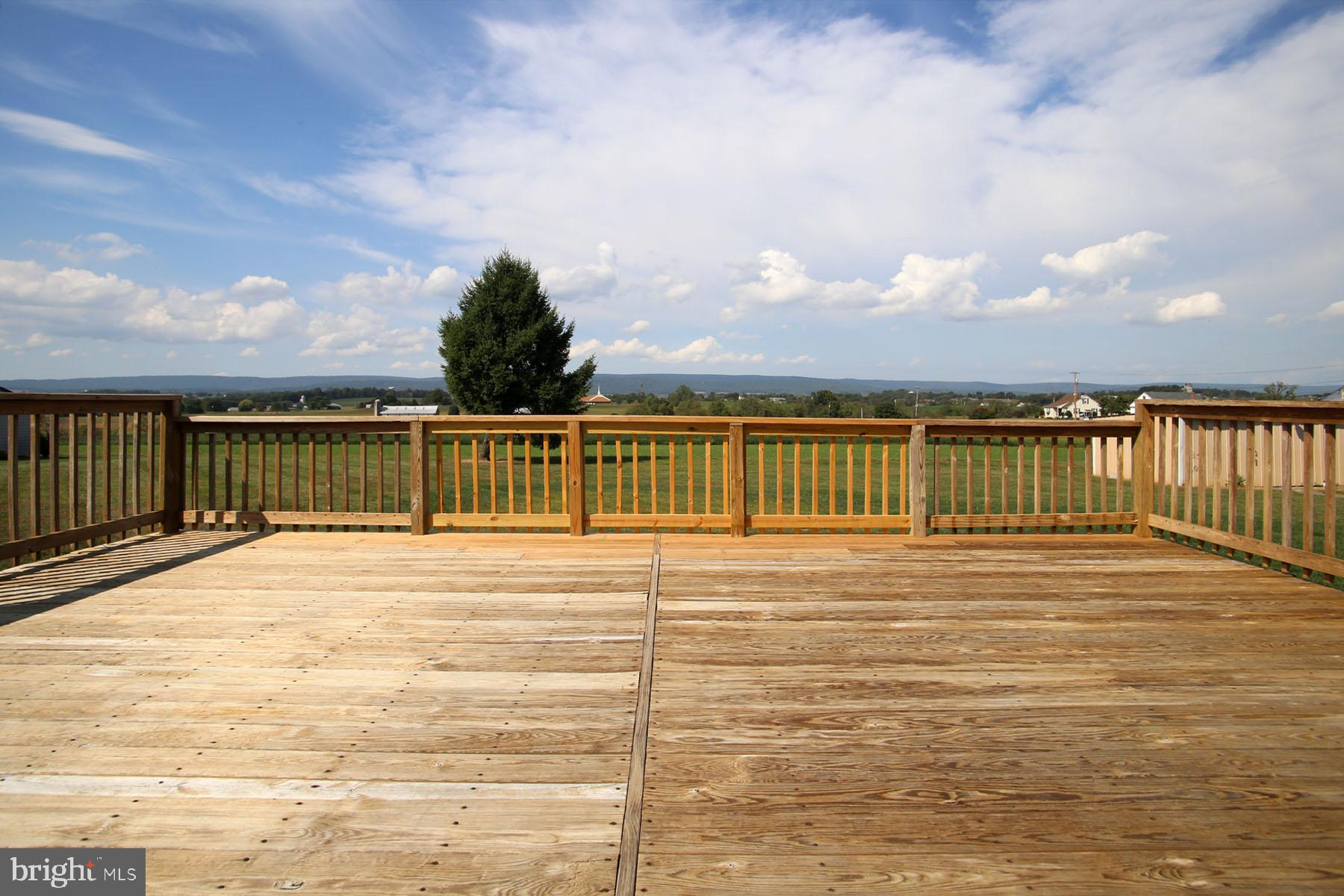 Deck space for relaxing, BBQs, and gatherings.