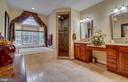 Luxury Bath with Custom Tile - 30 MERIDAN LN, STAFFORD