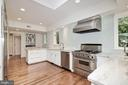 Renovated Kitchen - 3308 WOODLEY RD NW, WASHINGTON