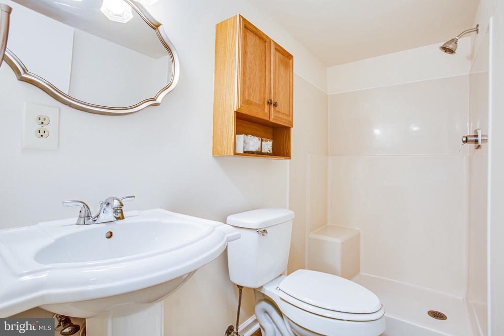 Full bath on lower level - 4 EDGEWOOD CIR, FREDERICKSBURG