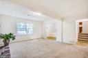 Brick hearth & mantel in Family Room - 4 EDGEWOOD CIR, FREDERICKSBURG