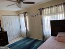 Master bedroom / view two - 14928 AMPSTEAD CT, CENTREVILLE
