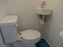 Main level Half bathroom - 14928 AMPSTEAD CT, CENTREVILLE