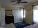Master bedroom / view three - 14928 AMPSTEAD CT, CENTREVILLE