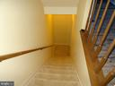 Staircase to basement - 14928 AMPSTEAD CT, CENTREVILLE