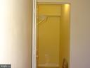 Basement room's walking closet - 14928 AMPSTEAD CT, CENTREVILLE