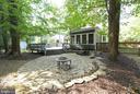 Stone Patio has Firepit - 6013 CHAPMAN RD, LORTON