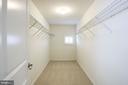 Master Bedroom closet - 17170 SEA SKIFF WAY, DUMFRIES