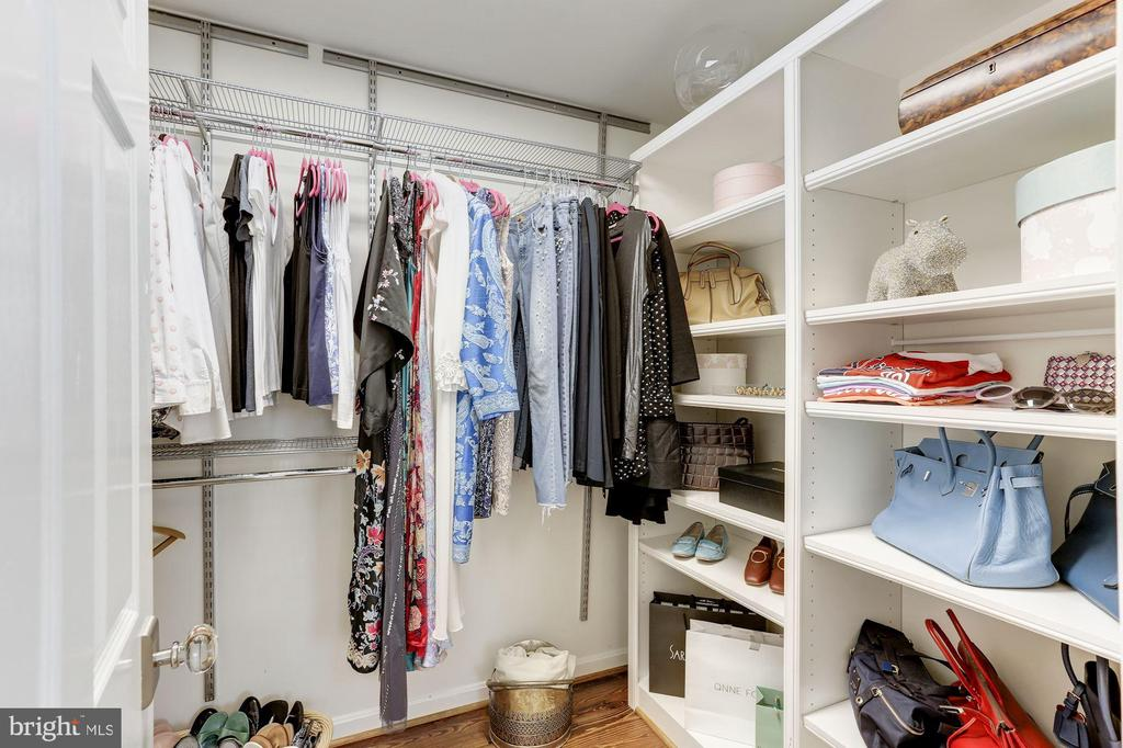 Master walk-in closet - 702 PRINCE ST, ALEXANDRIA