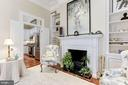 Charming electric fireplace - 702 PRINCE ST, ALEXANDRIA