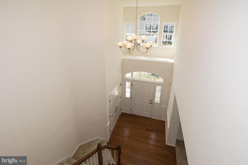 2 story foyer - 10306 SPRING IRIS DR, BRISTOW