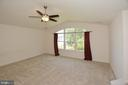 Huge master bedroom with cathedral ceiling - 10306 SPRING IRIS DR, BRISTOW
