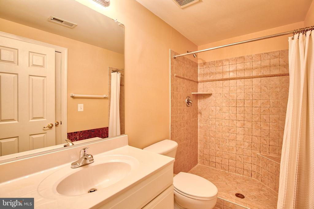 Lower Level Full Bathroom - 40771 BLACK GOLD PL, LEESBURG