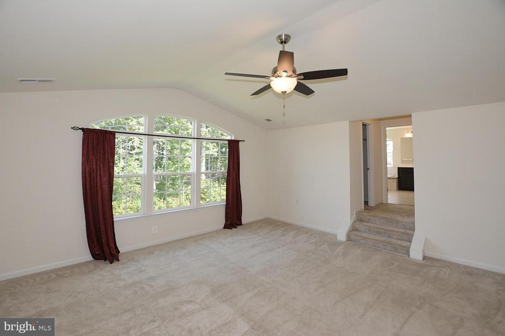 Paladian window in master bedroom - 10306 SPRING IRIS DR, BRISTOW